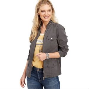 !!NEW!! BNWOT maurices Zipper Collar Jacket
